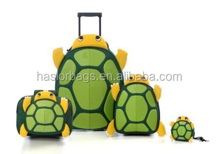 2015 animal mignon forme de tortue sac à dos école pour enfants