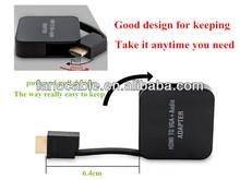Portable full HD hdmi to vga av Converter for LCD, DVD, Laptop