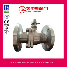 JIS 10K Flanged Stainless Steel Ball Valves Industrial Valves