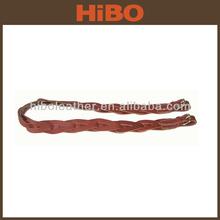Shooting and hunting weaving leather gun belt / gun sling