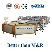 automatic textile t-shirt screen printing machine better than carousel