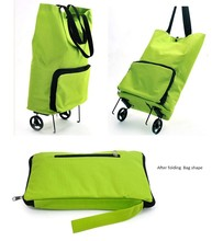 shopping trolley bag with wheel