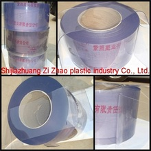 transparent soft pvc plastic strip door curtain sheet roll