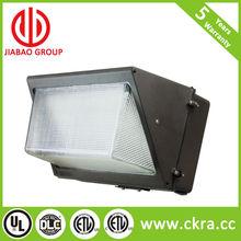 led wall pack light long life glass lense brown housing