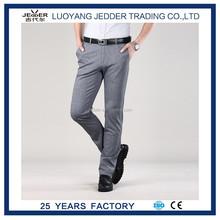 Nuevo modelo de vestido ocasional rectas pantalones delgados del ajuste de los nuevos hombres de vestimenta formal casual