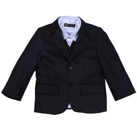 NEW ARRIVAL ! Hot sale high quality checked three pcs fashion boy suit