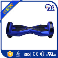 Highpower and Low noise blue color io hawk 8 inch dual wheel self balancing scooter