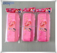 plastic transparent pencil case for teenagers