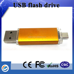 New gold chain design for men usb stick logo print with gift boxes wholesale