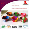 2015 Fashionable TIE-DYE Baking Cups / Silicone Cupcake Mold