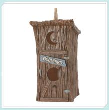 resin garden craft Outdoor Birdhouse