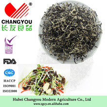 Origin dried white back black fungus strip producer