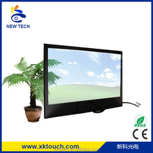 Factory price 15 inch transparent LCD advertising display support H DMI+VGA+DVI+AV+TV