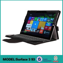 Brand new stand leather case for Microsoft surface pro 3 with keyboard