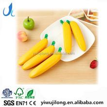 novel creative fruit banana shape ball pen for promotion and advertisement