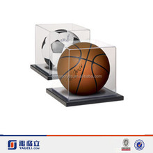 Yageli awesome quality clear acrylic basketball box/acrylic display cubes