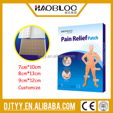 New Products 2015 Chinese Herbal Pain Relief Patch