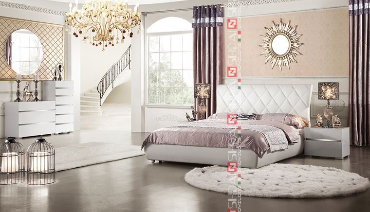 Foshan Furniture Foshan Furniture Mall Classic Modern Italian Bedroom