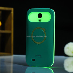 Luminous body mobile cover phone case for Samsung galaxy S4