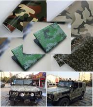 1.52*30m Car Body Decoration Vinyl Sticker with Air Channel Camouflage Vinyl