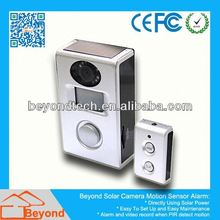 Email Alarm H.264 Dvr Solar Camera Alarm With Video Record and Solar Panel