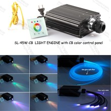 CB color 45W led fiber optic light source generator for underwater led lights bathtubs