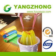 China wholesale market drawstring kitchen trash bags