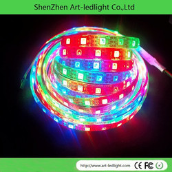 WS2812 digital flexible WS2812B led strip with built-in IC WS2811 5050RGB WS2812B led