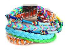 moda pulsera hecha a mano 2014