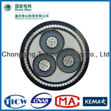 Factory Wholesale 15kv 3x240mm different types of electrical cables
