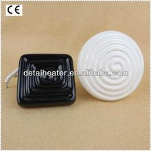 Detai Black White 220-240V 300W Ceramic Heating Element With Factory Price