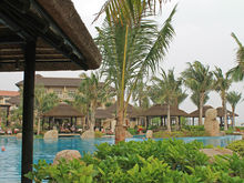 UV Protective Artificial thatch roofing for Garden and Hotel Decoration