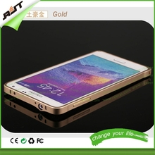 2015 newst gold metal bumper for samsung galaxy note 4 case
