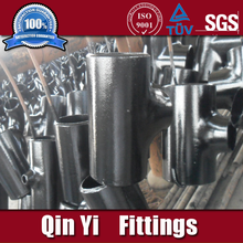 a234 wpb butt welded cs bw tee pipe fittings