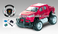 2014 new product 1:18 RC Car Off Road Vehicle Steering Wheel Model Car Wheels electrical car for sale