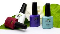 gel polish with colourful color