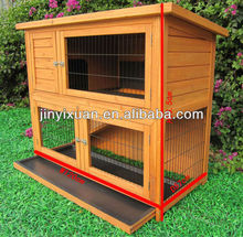 Rabbit hutch with Sloped Roof / Wooden rabbit house designs / 2 story rabbit hutches