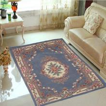 Chinese popular 100% wool pile hand tufted carpet flooring rug