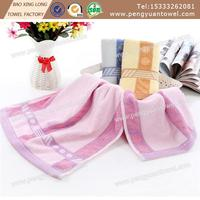 New design 100% terry cotton face towel face cloth with lace