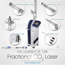 fractional CO2 laser acne and acne scar removal/burnt scars and surgery