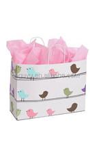Large Little Birdies Paper Shopping Bag