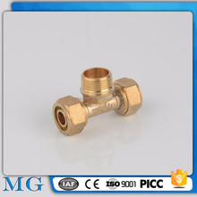 wholesale compression plumbing fitting copper olive ringring scarf hanger brass tube fittings
