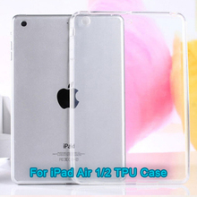 Tablet case Transparent Clear jelly tpu case for ipad mini ,for ipad mini case,for ipad case