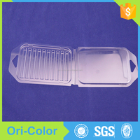 Clear Plastic Electronic Components Clamshell Packaging