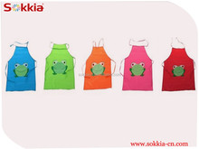 Green Frog Animal and Figure pattern design printed Kitchen children baby Apron