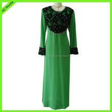 Latest design dubai abaya fashion kabaya kaftan jubah