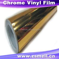 Chrome Gold 3D carbon fibre wraps Car Wrapping Vinyl Size: 98 ft x 4.9 ft