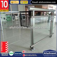 barandilla de aluminio