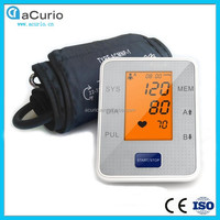 3.2inch color LCD Screen Upper Arm Digital Blood Pressure Monitor With CE