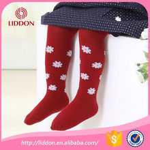 China hosiery facory for baby girls pantyhose tights